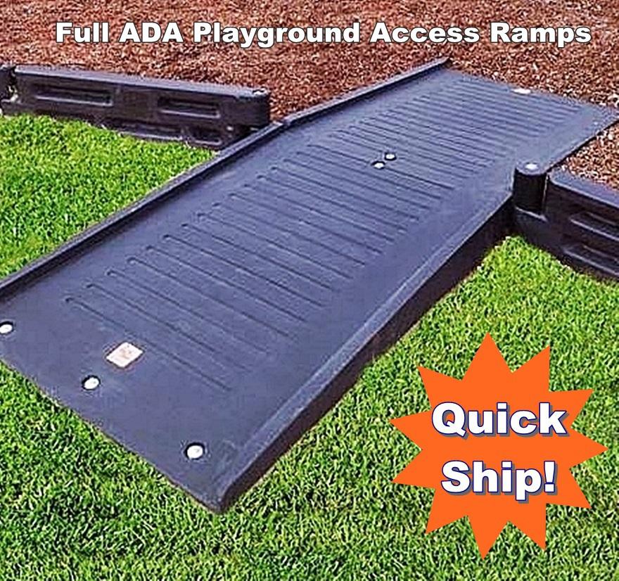 Playground Borders Ada Full Mount Ramp