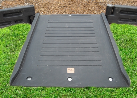 Playground Borders ADA Flush Mount Ramp 8%22_front