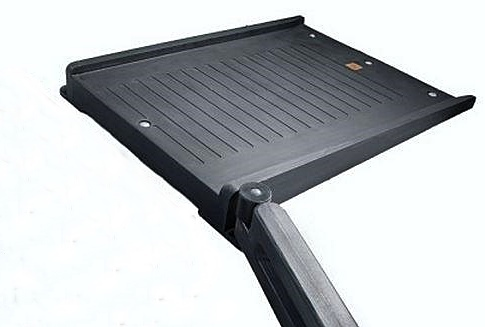 Playground Borders ADA Flush Mount Ramp 8%22w:timber