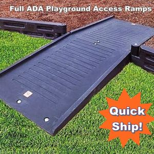 Playground Borders ADA Full Mount Ramp