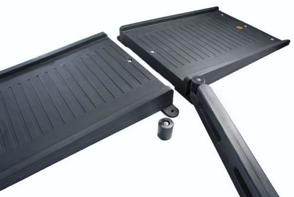 Playground Borders ADA Full Mount Ramp w/parts