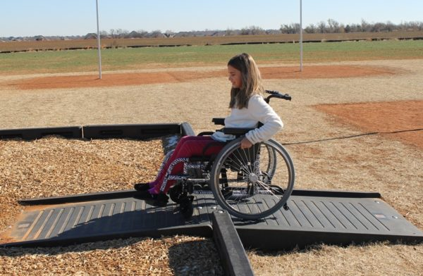 Playground Borders Full Ramp - Wheelchair